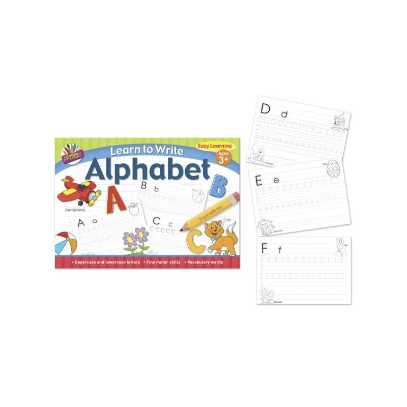 Learn to Write Your Letters Alphabets