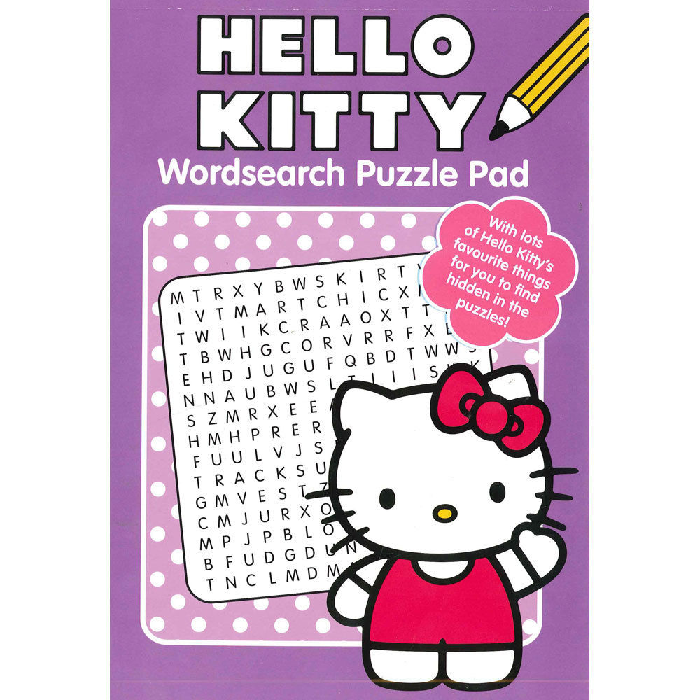 Hello Kitty Wordsearch Puzzle Pad 2