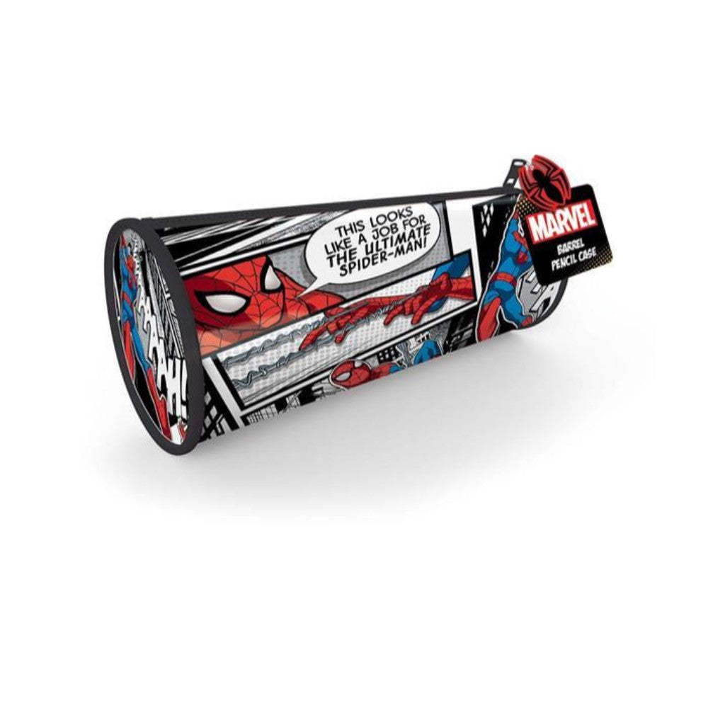 Spiderman Classic Barrel Pencil Case
