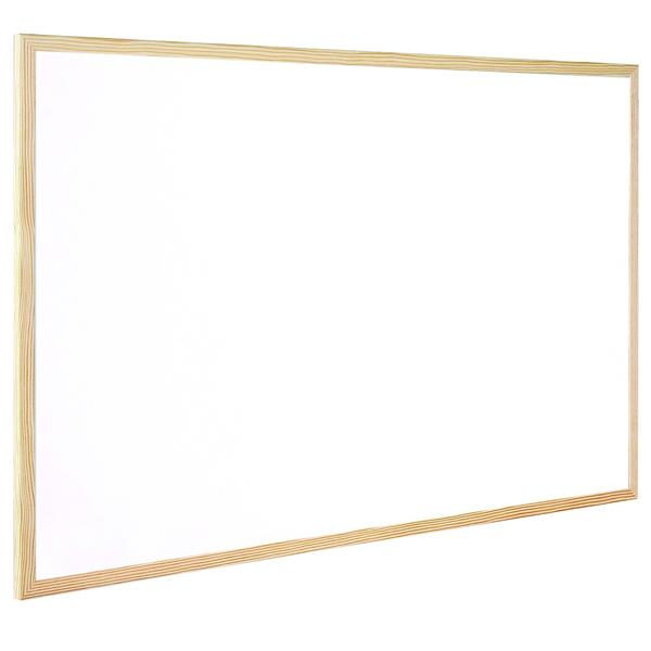 Q-Connect Wooden Frame Whiteboard 600x400mm KF03570