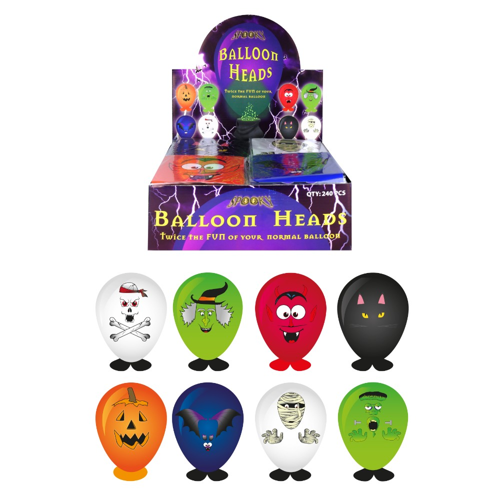 Balloon Heads Halloween Assorted Design