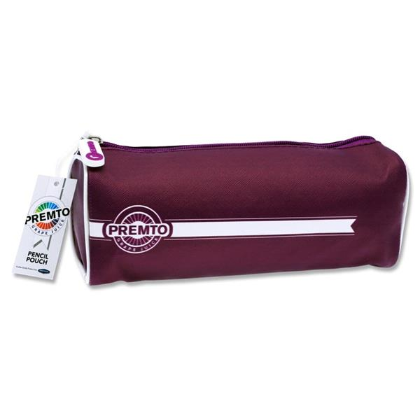 Grape Juice Purple Rectangular Pencil Case by Premto