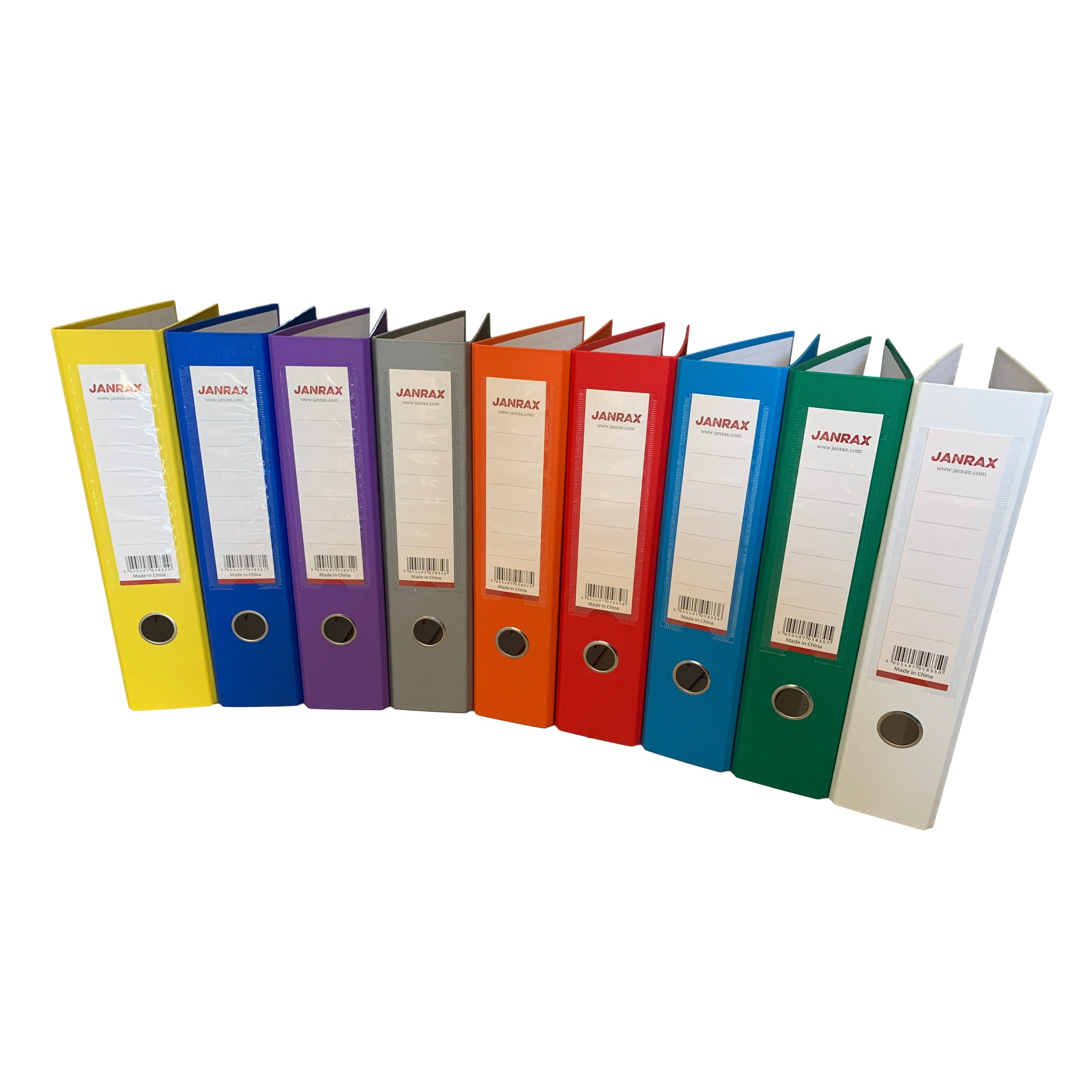 A4 Black Paperbacked Lever Arch File by Janrax