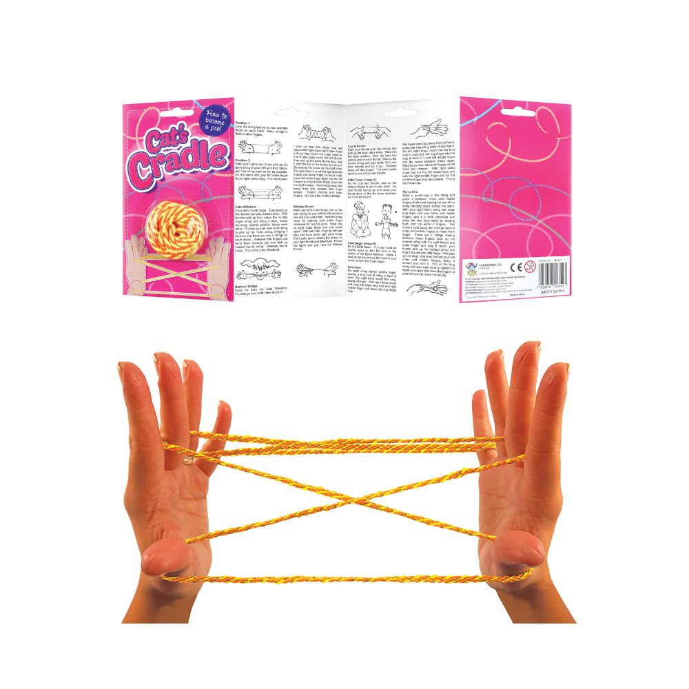 1.6m Cats Cradle String with Instructions