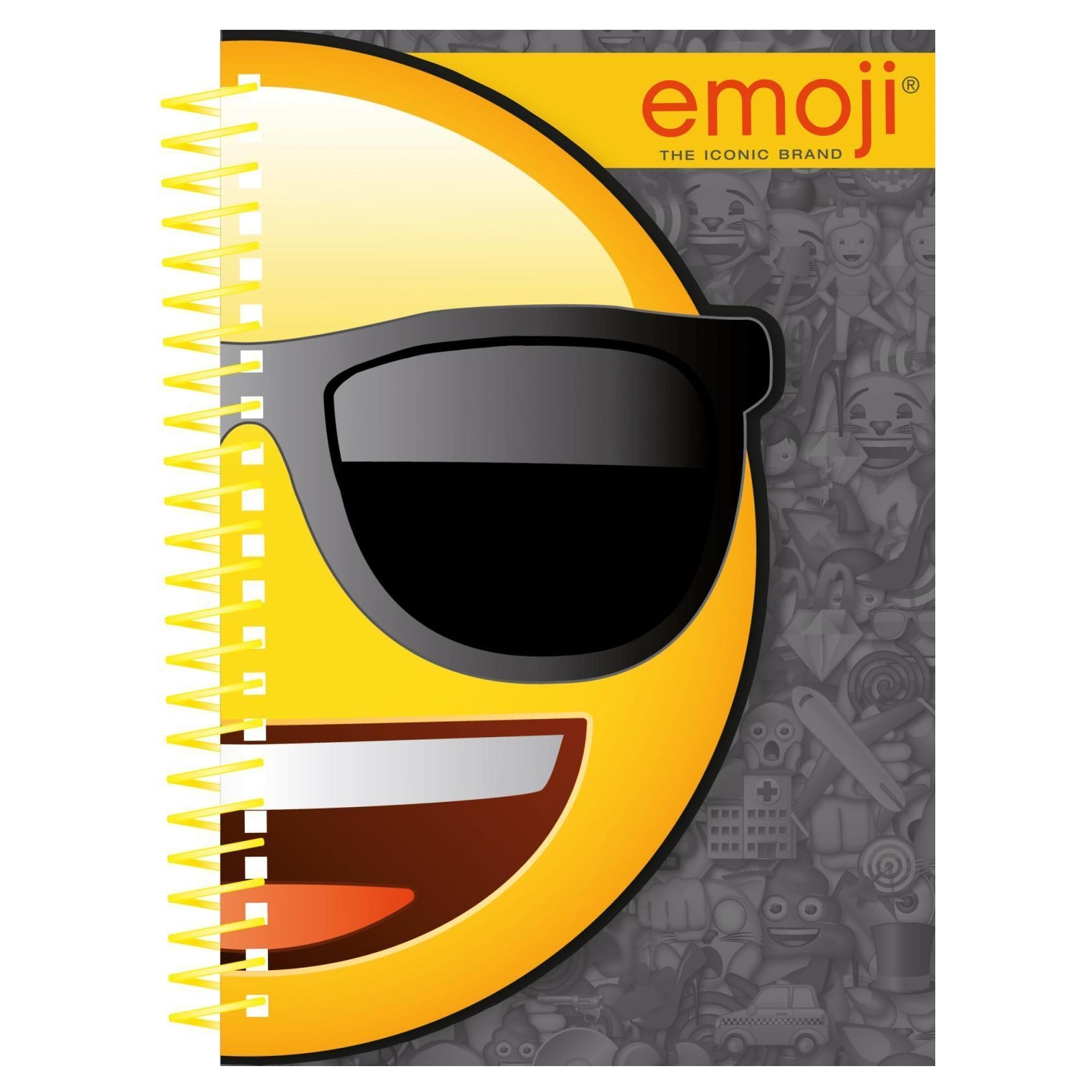 Emoji Design A5 Die Cut Notebook