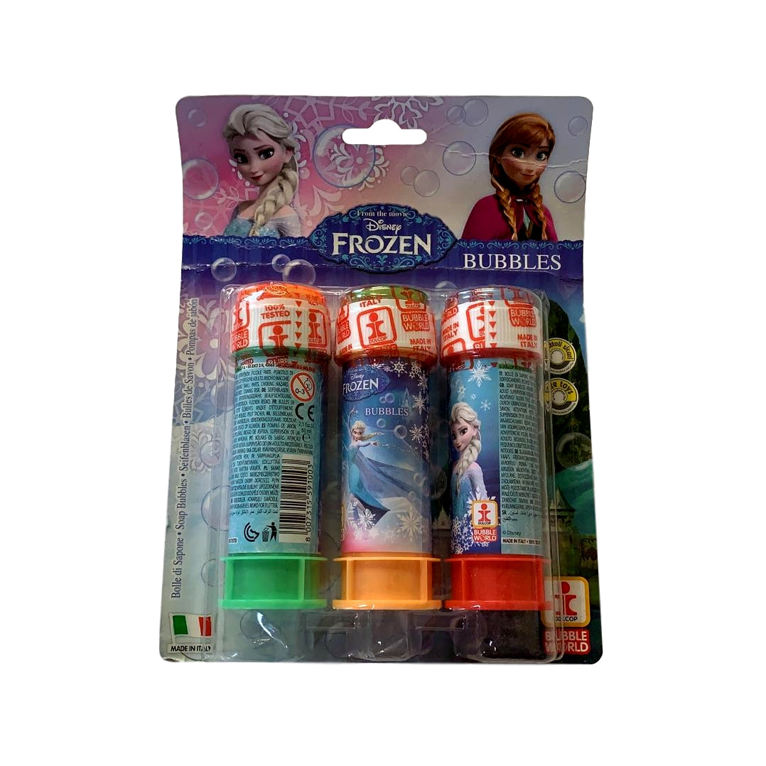Pack of 3 Frozen Bubble Tubs 60ml