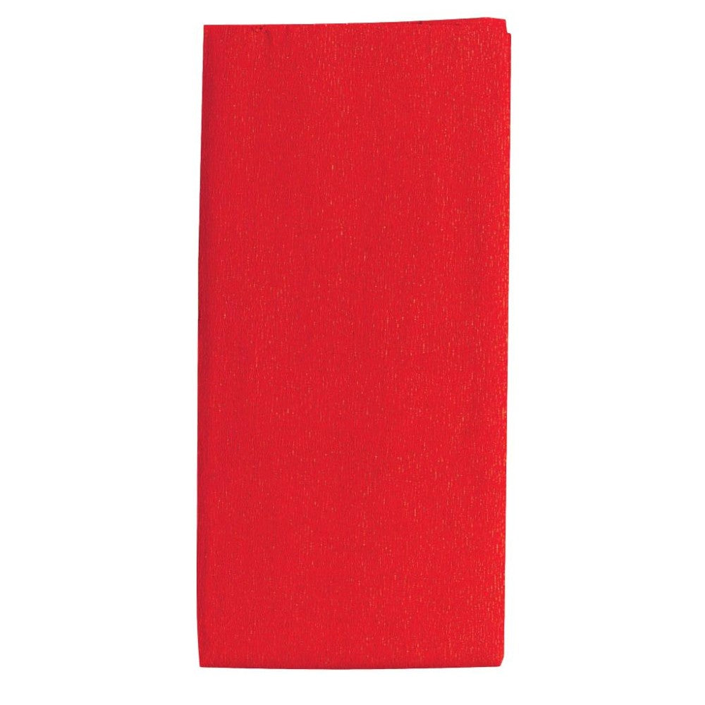 Red Crepe Paper Folded 1.5m x 50cm