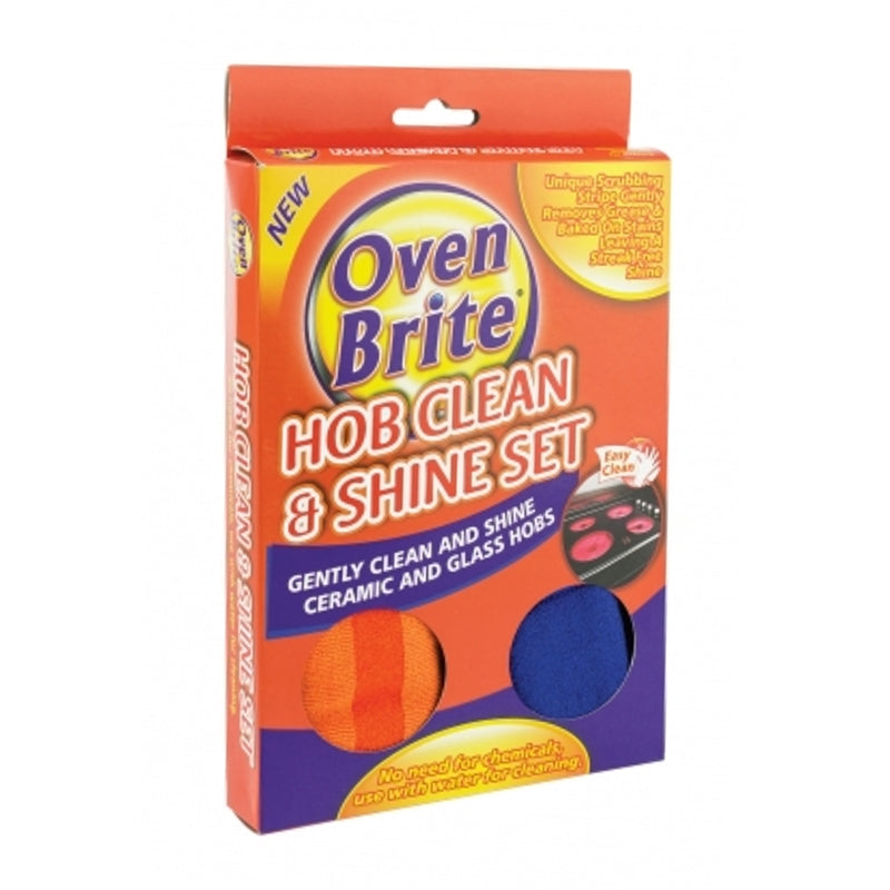 Pack of 2 Oven Brite Hob Clean Cloth