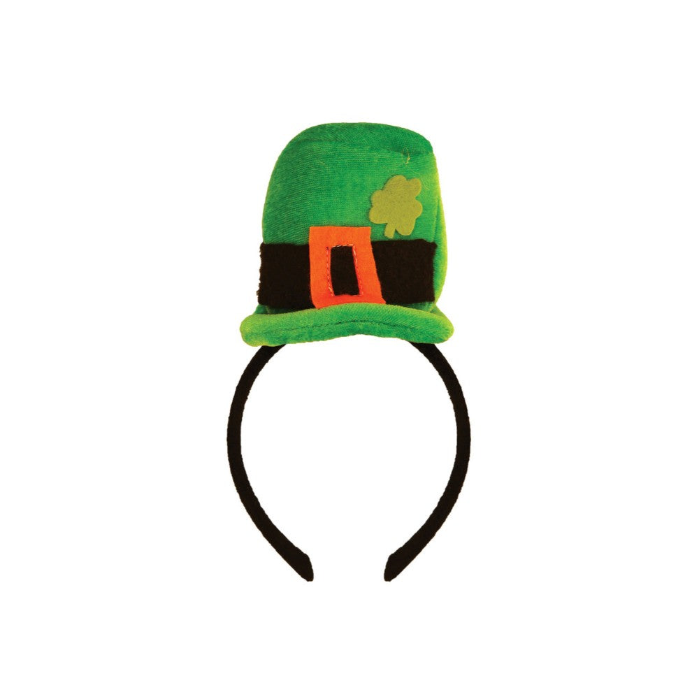 Headband Hat Mini Topper with Buckle & Shamrock
