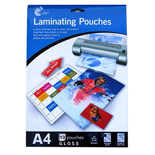 A4 Laminating Pouches (10 Pack)