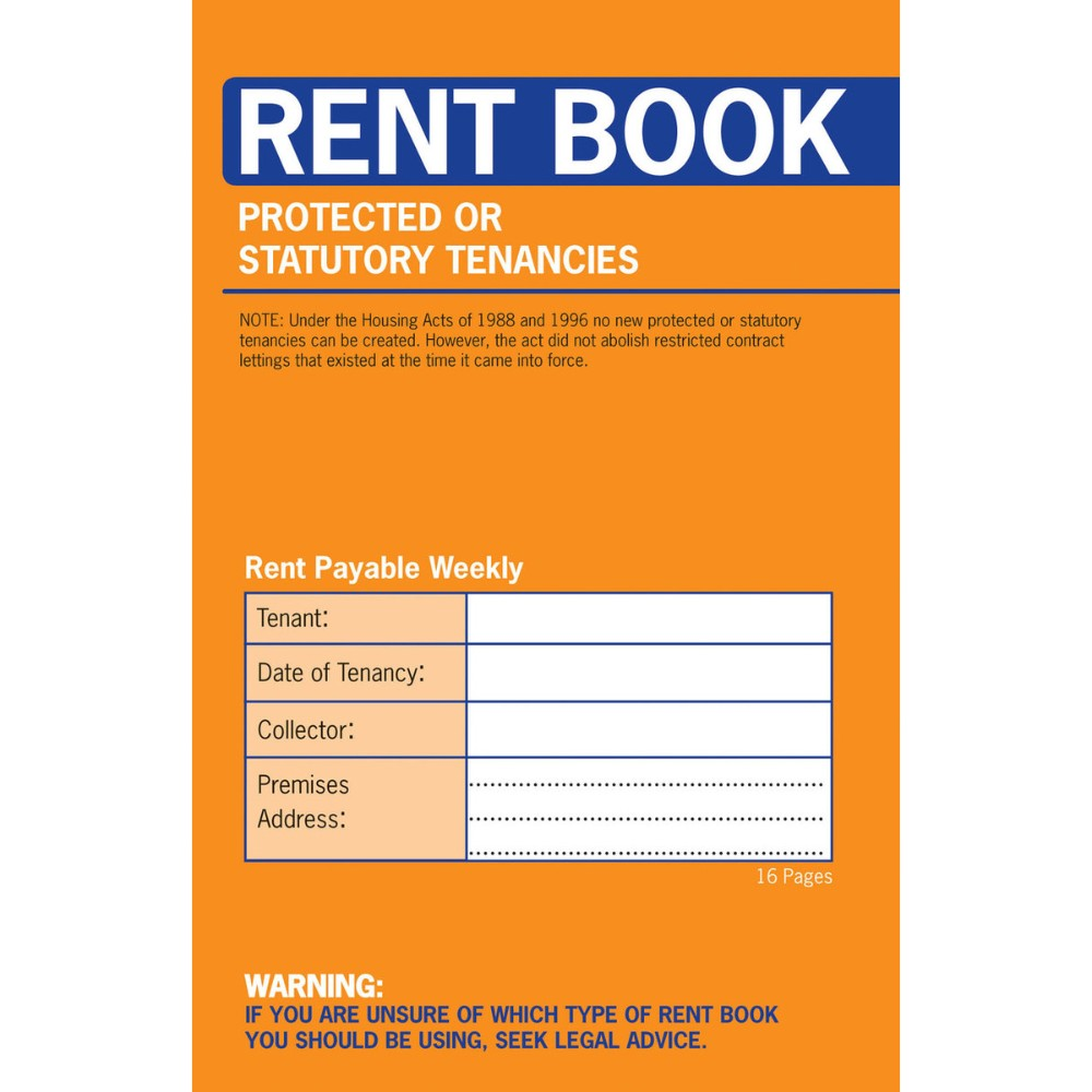 Protected Tenancy Rent Book