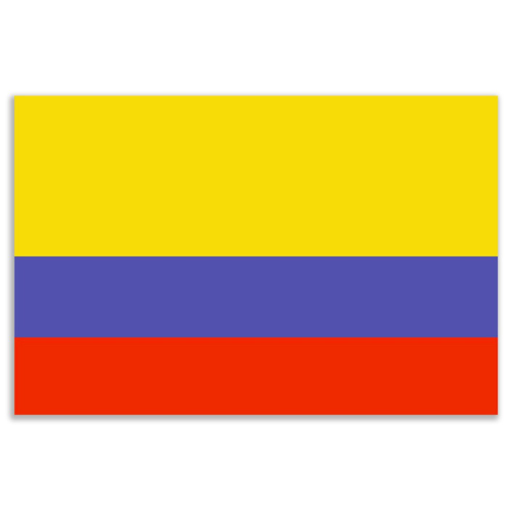 Colombia Flag 5ft X 3ft