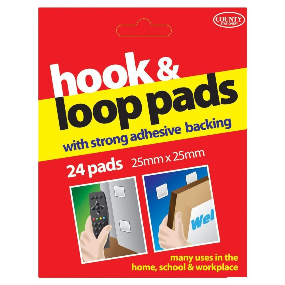 County Hook & Loop Pads (24 Pads)