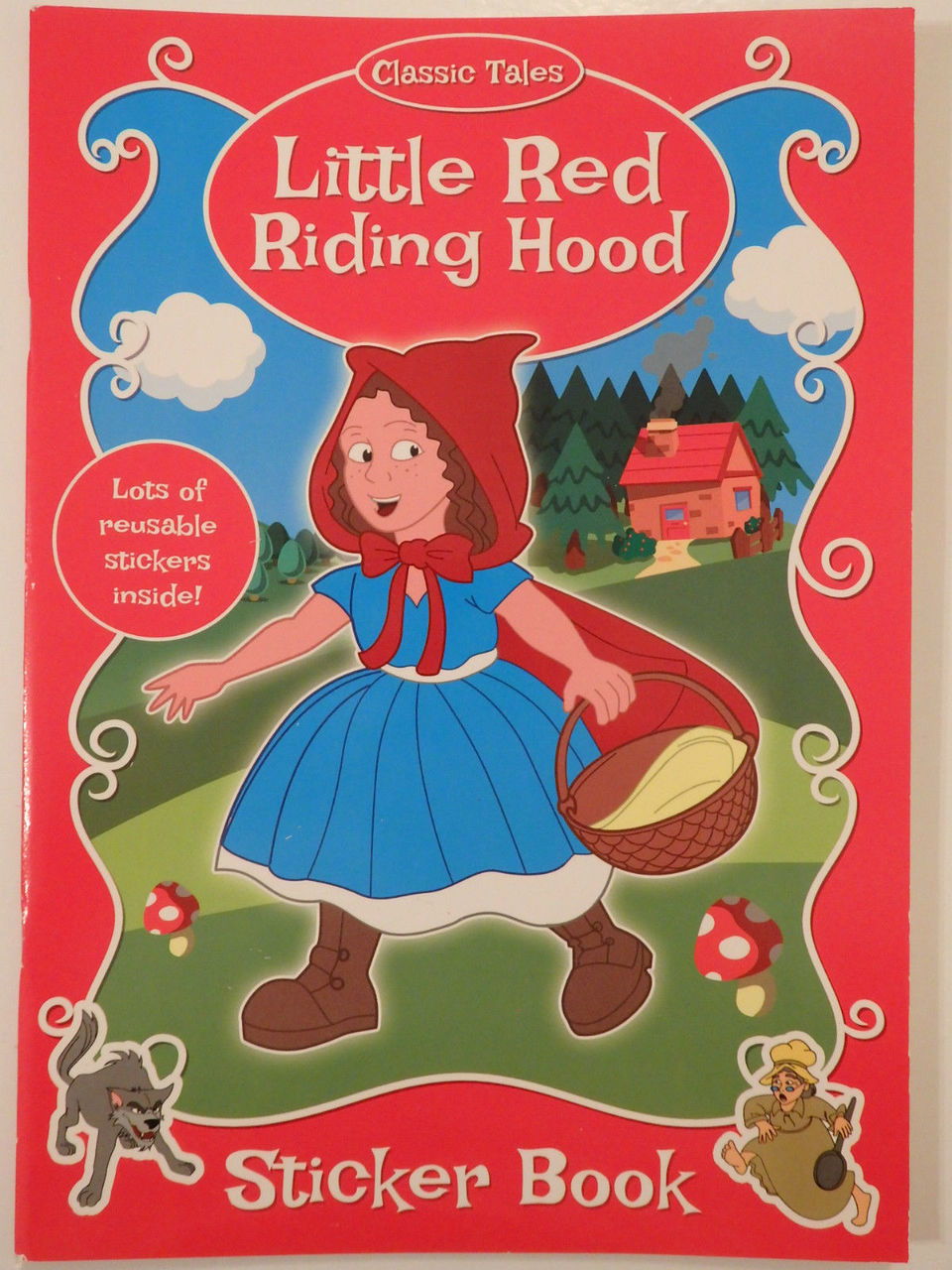 Fairy Tale Sticker Book - Little Red Riding Hood