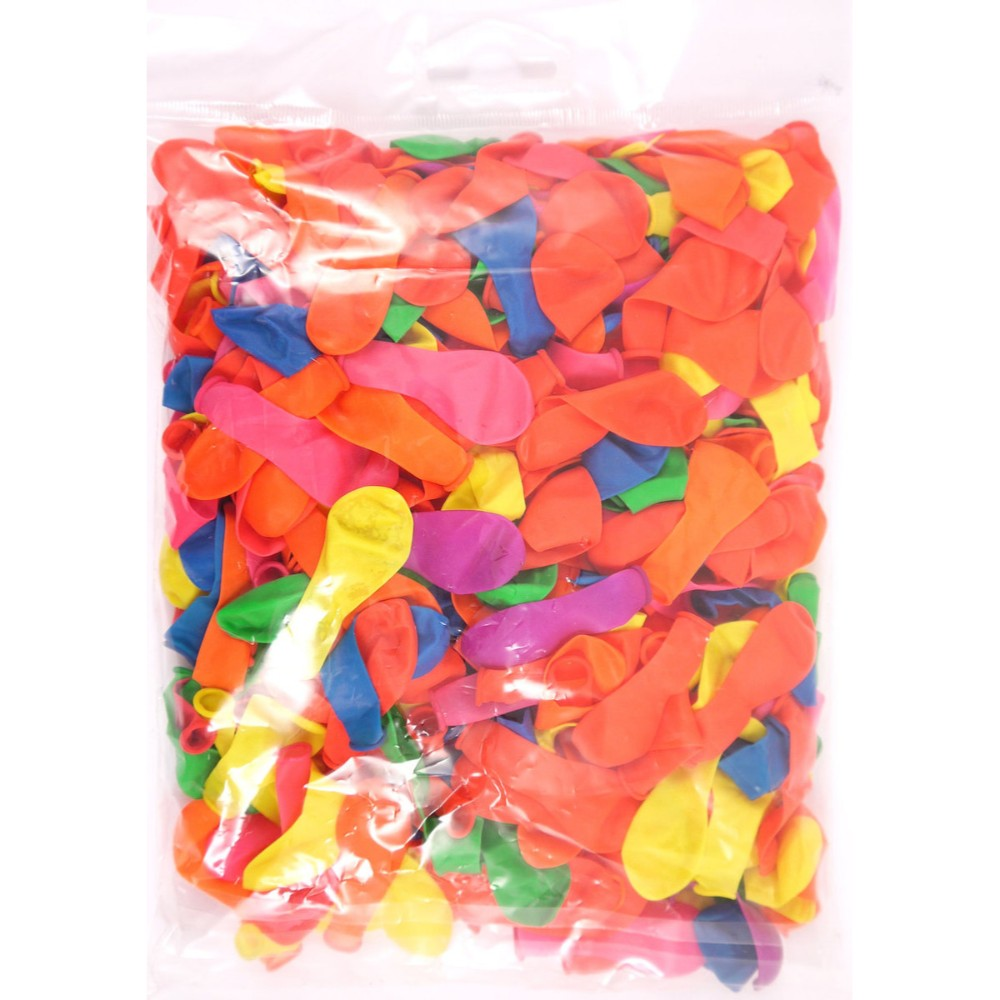 Pack of 400 Neon Water Bombs Balloons