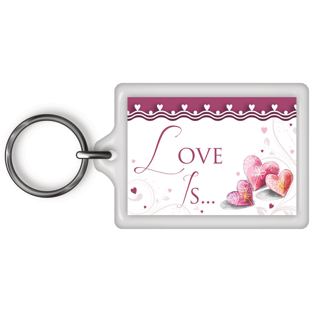 Love Is... Celebrity Style World's Best Keyring