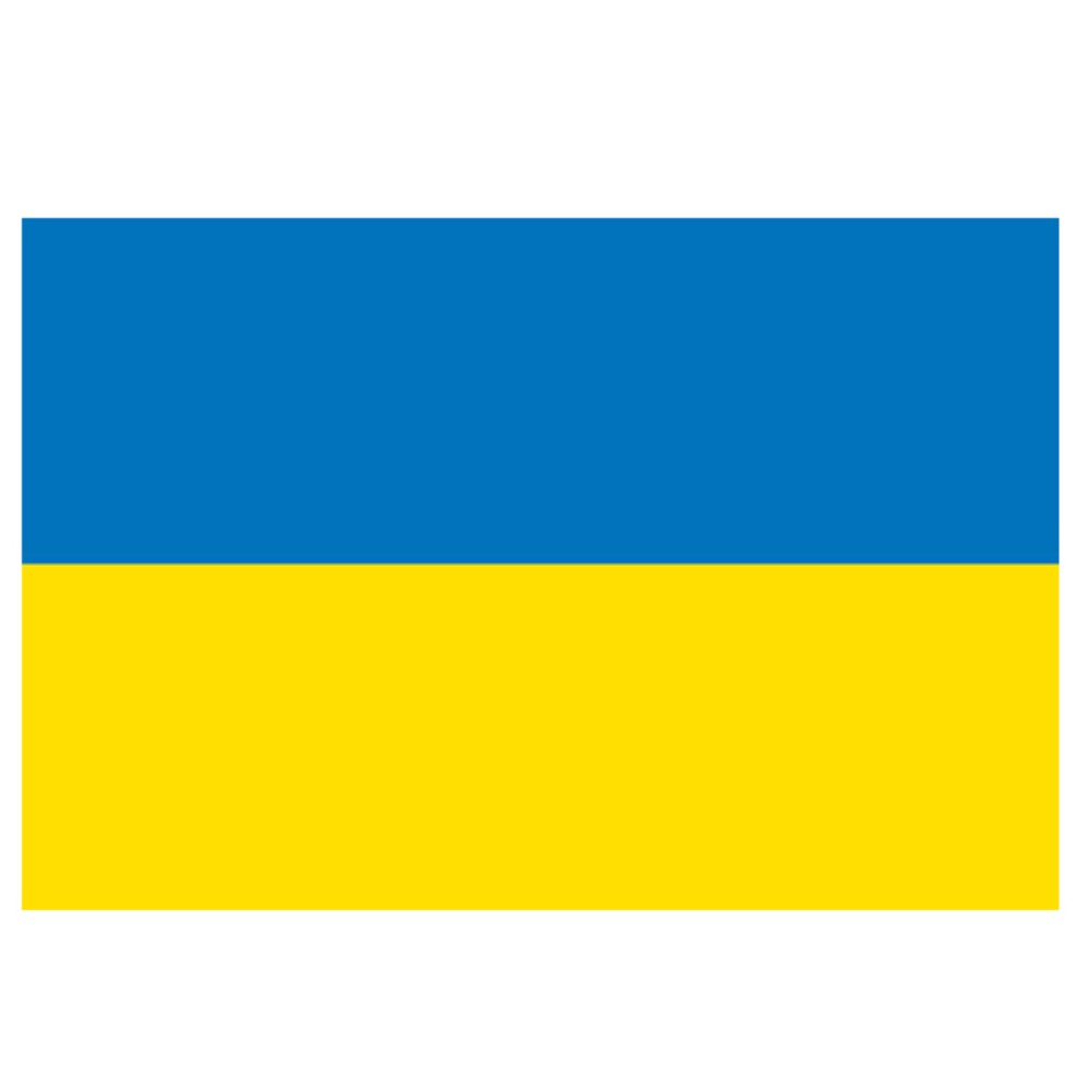 Ukraine Flag 5ft X 3ft