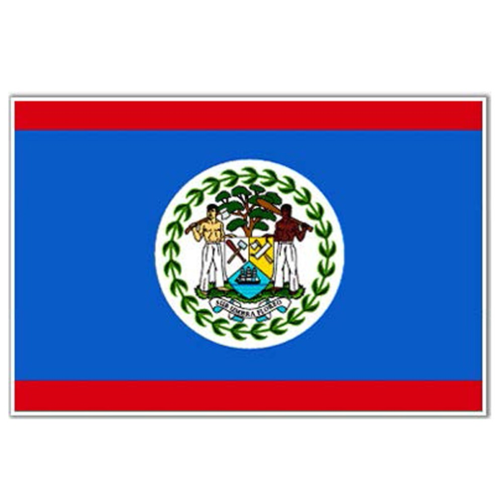 Belize Flag 5ft X 3ft