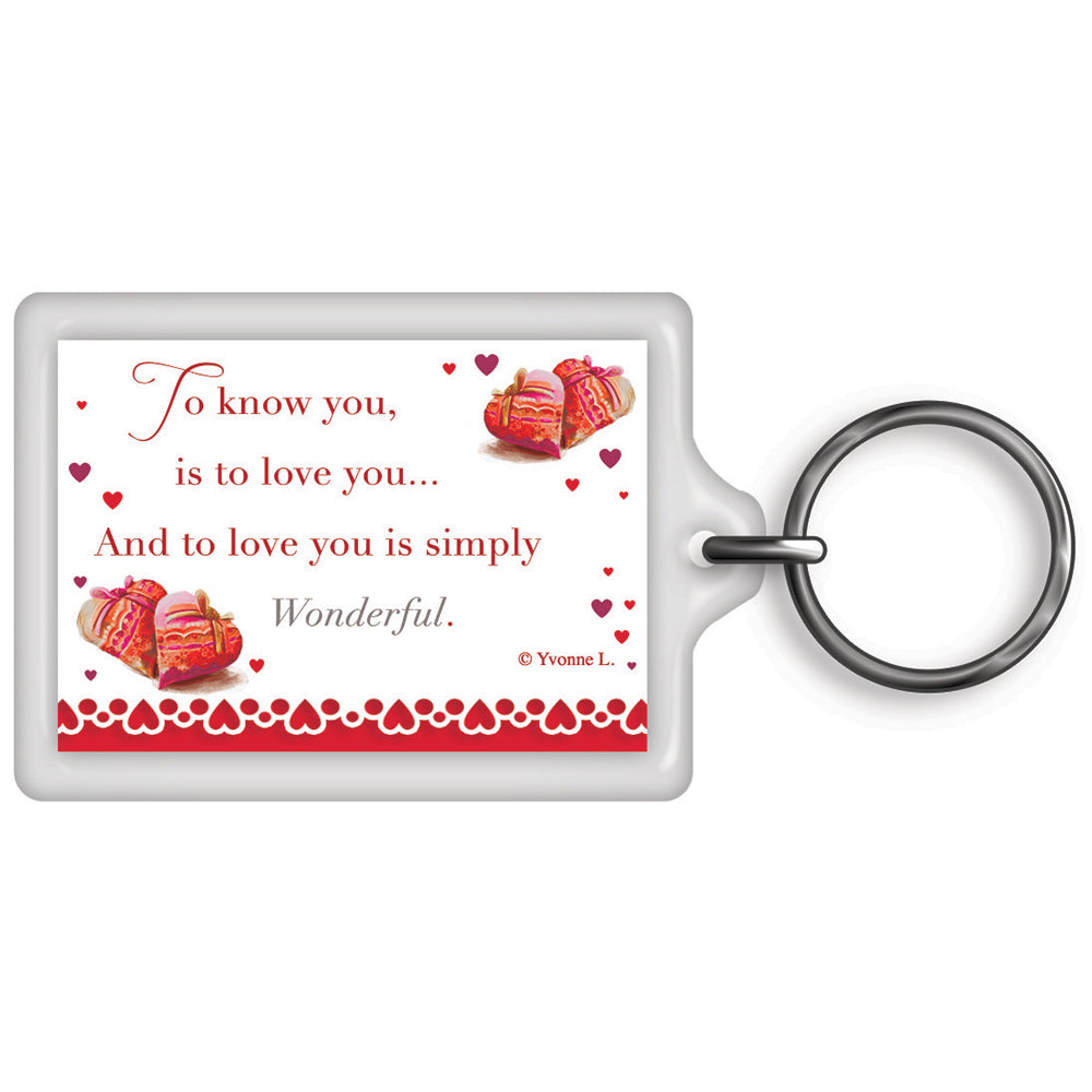 A Special Love Celebrity Style World's Best Keyring