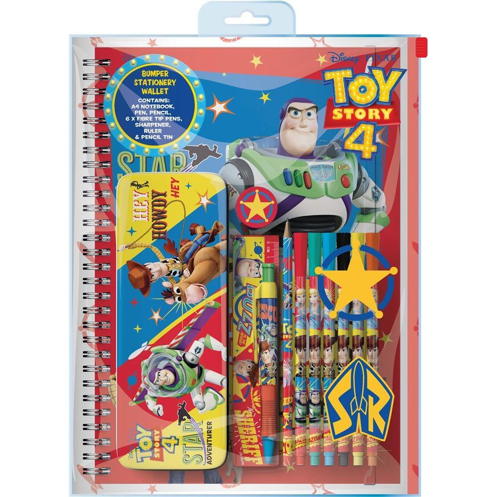Toy Story 4 Bumper Stationery Wallet