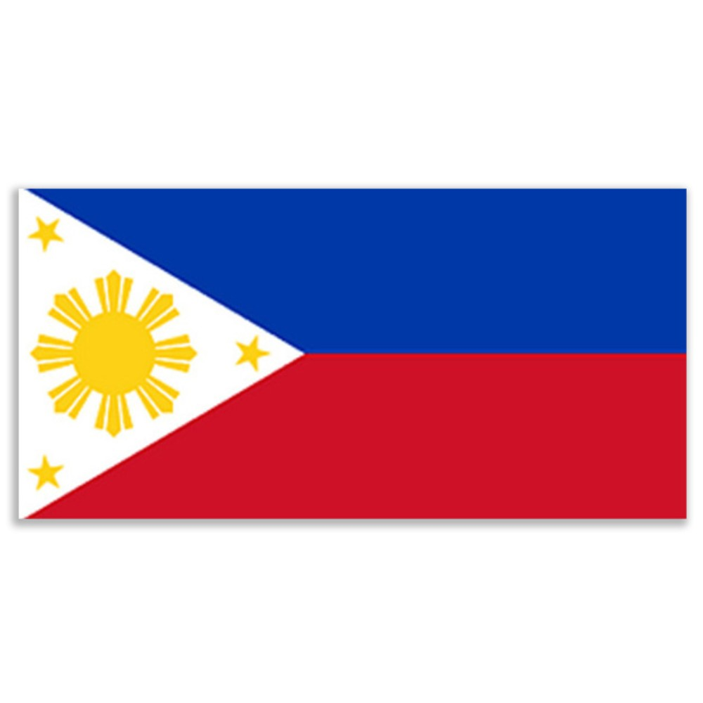 Philippines Flag 5ft X 3ft