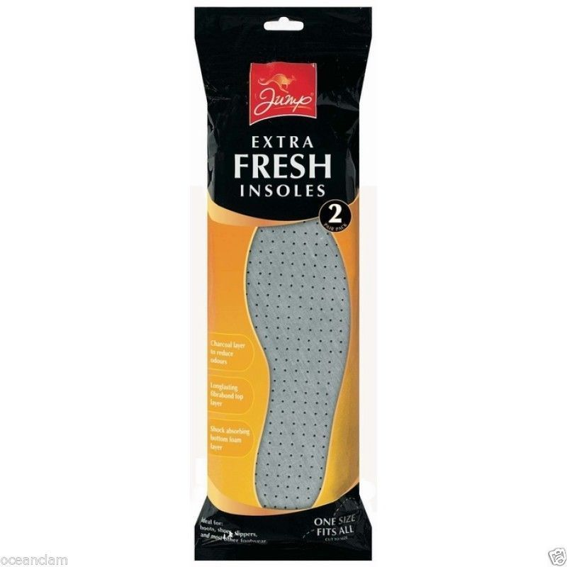 2 Pack Extra Fresh Insoles