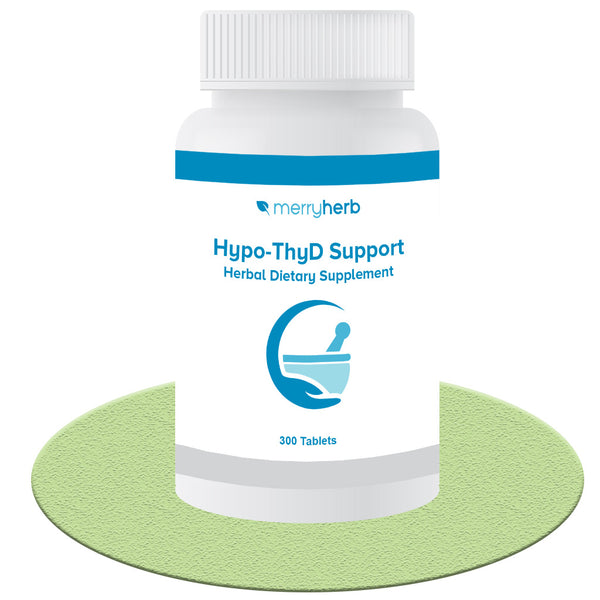 曼康甲减片 MerryHerb Hypo-Thyroid Support Formula