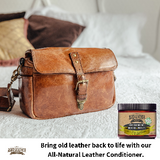 Beesbutter Leather Conditioner, Balm