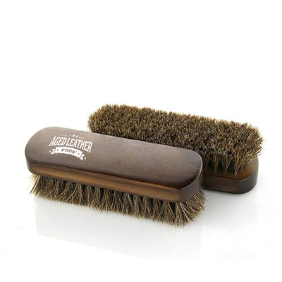 Horse Hair Leather & Textile Cleaning Brush