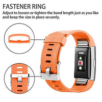 Correa para Fitbit Charge 2 Color Naranja ajustable