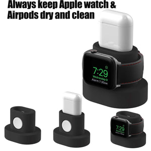 Soporte de Carga de Apple Watch y Airpods Timotech