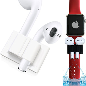 Soporte para airpods color blanco