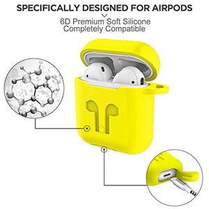 Funda para airpods (set de 9 piezas) Compatible
