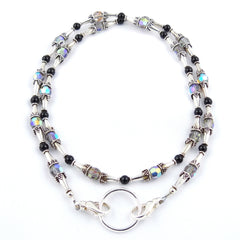 Beaded Cones Eyeglass Necklace