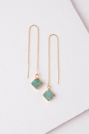Mary Love Turquoise Dangle Earrings