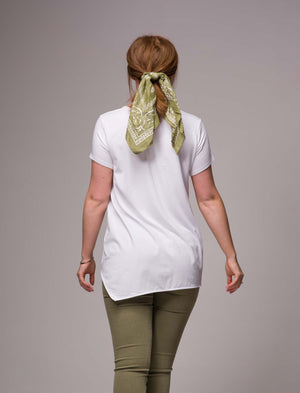 High Low Cotton/Bamboo Shirt