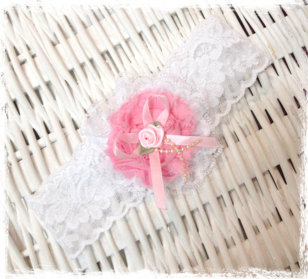 Baby, girl, lady white vintage christening flower girl bridal fascinator headband.BRGN30