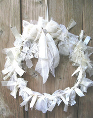 Tattered Lace wreath