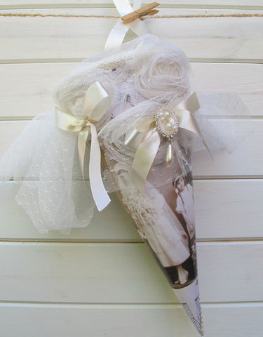 Celebration/ Flower Girl Cone