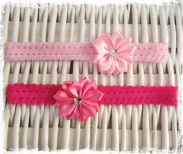 Baby & girl flower headband. BRGN28