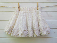 little girl crochet skirt