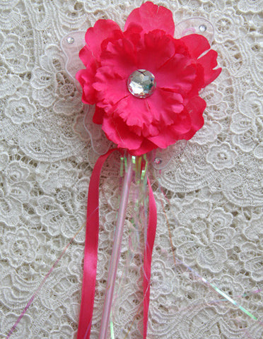 Baby pink or hot pink fairy wand. Wand03