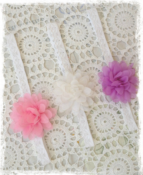 Baby & Girl Floral Headband - BRGN23