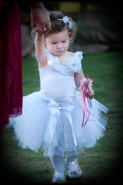 Baby & Girl Christening, Wedding, Fairy White Tutu Skirt