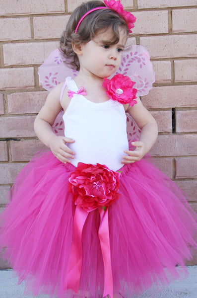 Baby & Girl Peonie Fairy Tutu Skirt