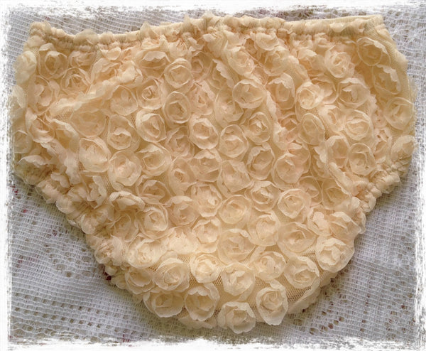 Baby to Toddler champagne cream bloomers. BLMR19