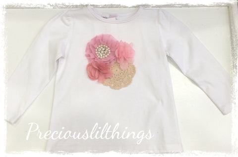 Toddler to girl long sleeve top