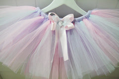 Baby & Girl Rainbow Pastel Fairy Tutu Skirt