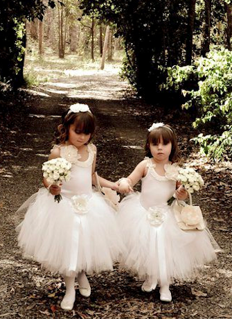 Flower Girl Tutu Skirt