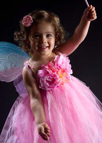 Baby & Girl Floral Flower Girl Fairy Tutu Dress - TUFW11